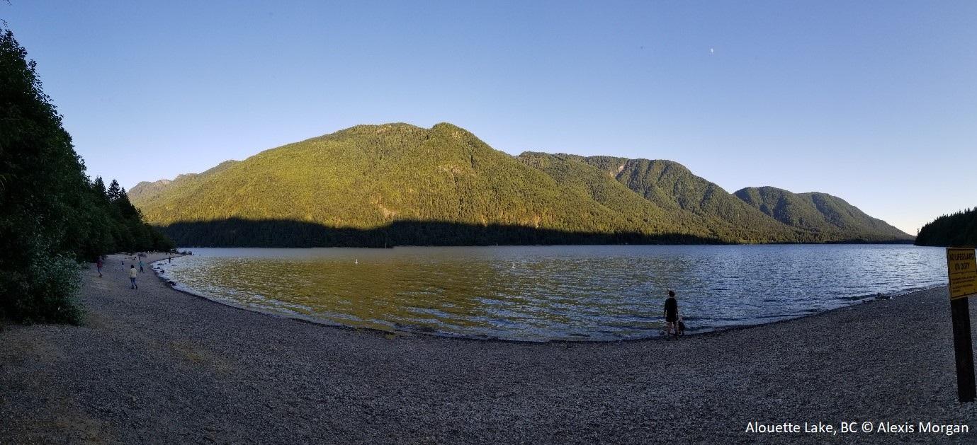 Alouette Lake, BC © Alexis Morgan