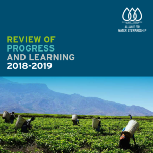 AWS Review of Progress and Learning 2019